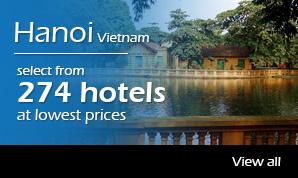 274 hotels in hanoi