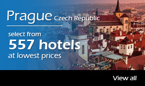 557 hotels in prague