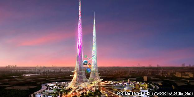 China Tallest towers world burj khlifa